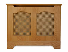 double cathedral cabinet